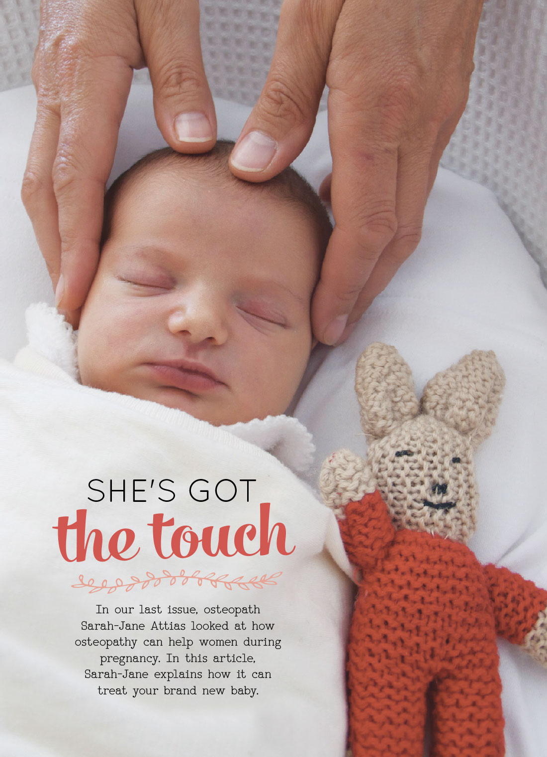 fbe997e391196 OHbaby! Spring 2016 – She's Got the Touch - Living Osteopathy